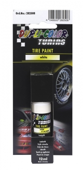 DC Tuning Tire Paint white, 12ml